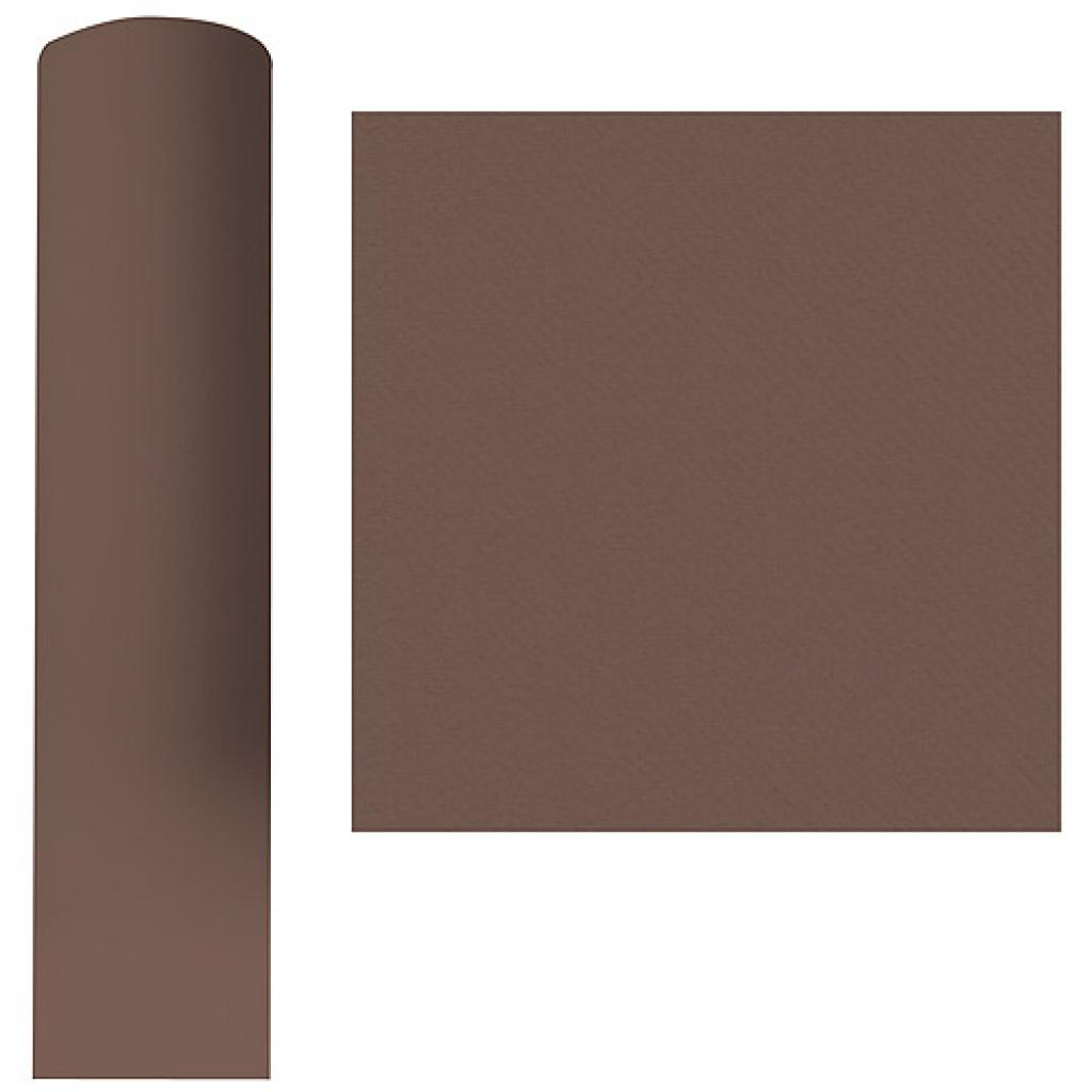Roll of chocolate brown dry process tablecloth, 1.20x25 m