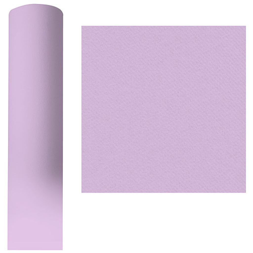Roll of violet dry process tablecloth, 1.20x25 m