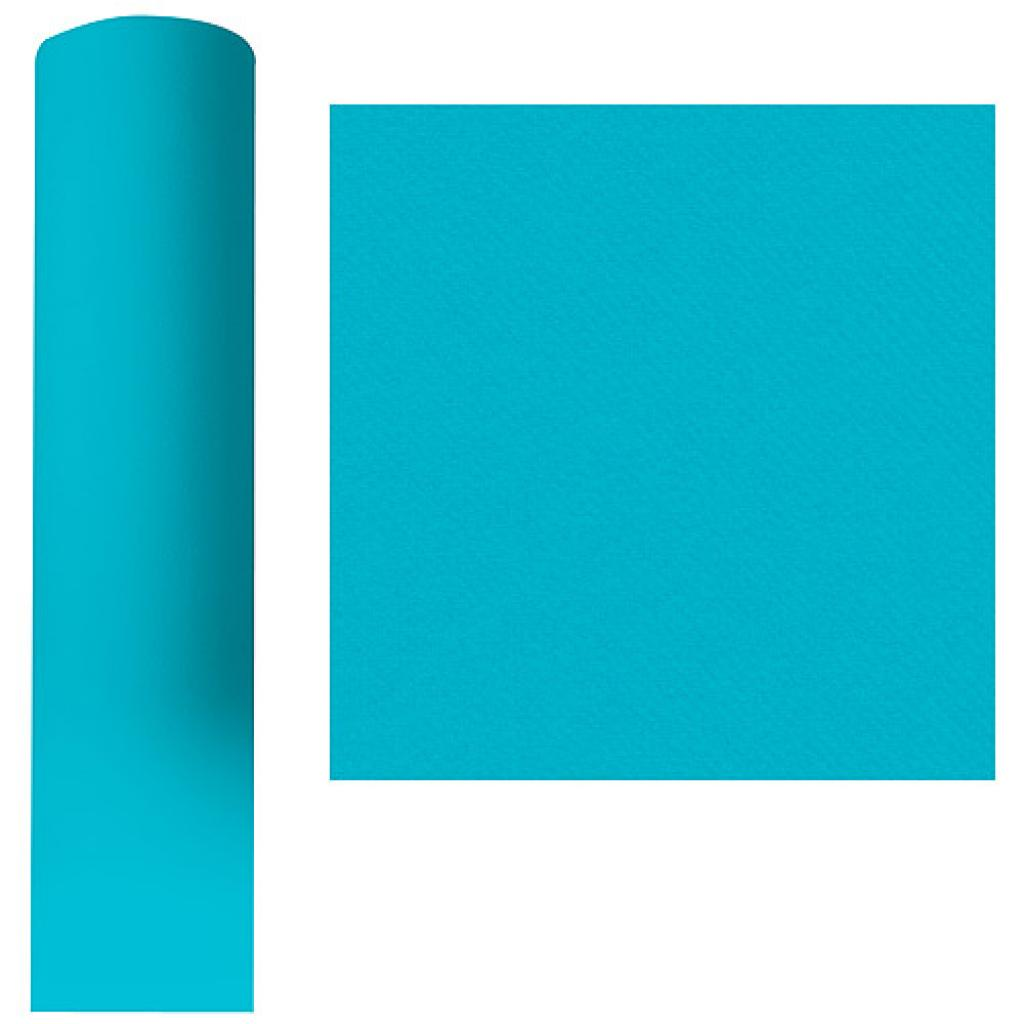 Roll of turquoise dry process tablecloth 1.20 x 25 m