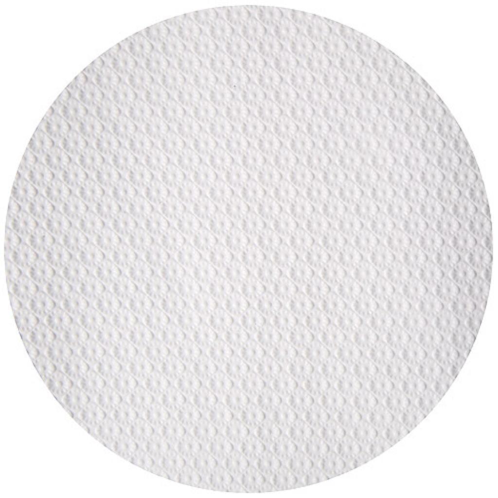 White circular paper tablecloth Ø 80 cm