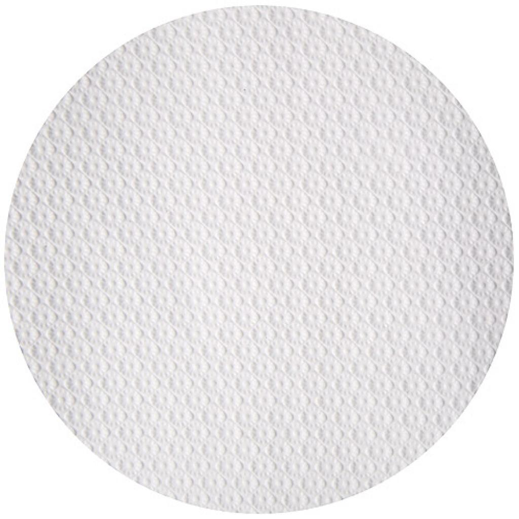 Circular white paper tablecloth Ø 110 cm