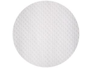 Circular white paper tablecloth Ø 110 cm