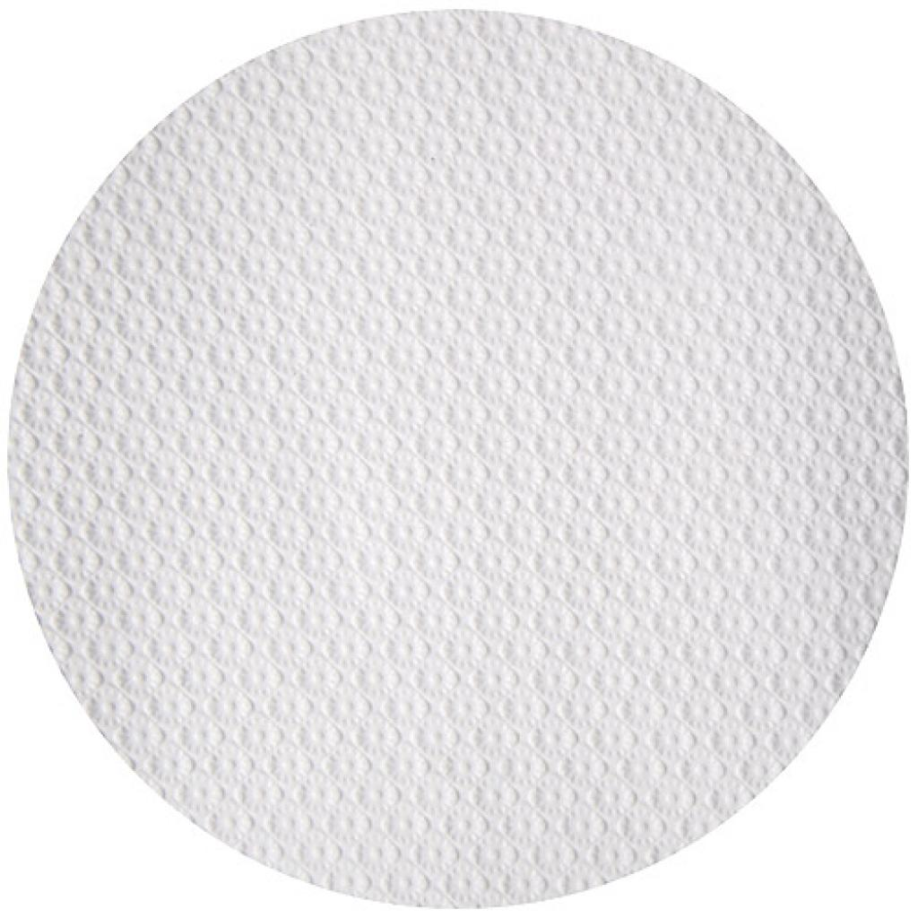 White circular paper tablecloth Ø 120 cm