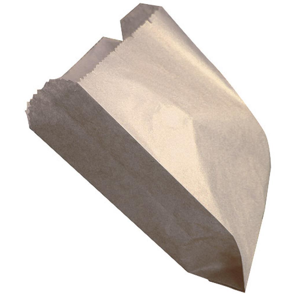 Brown kraft paper chip sleeve 11x3,5x13,3 cm