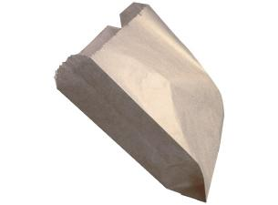 Brown kraft paper chip sleeve 11x3,5x13,3 cm