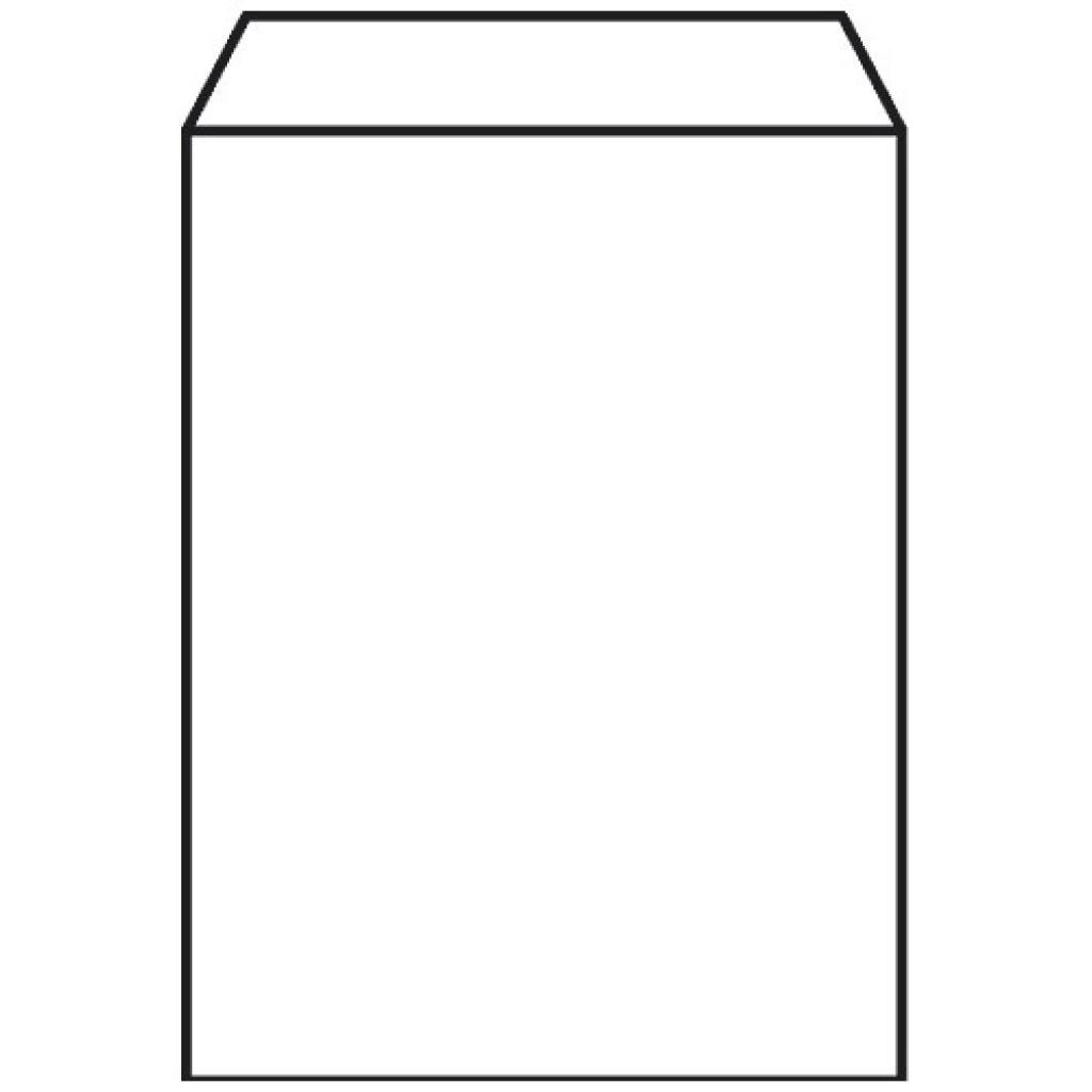 White kraft paper n°1 croissant bag