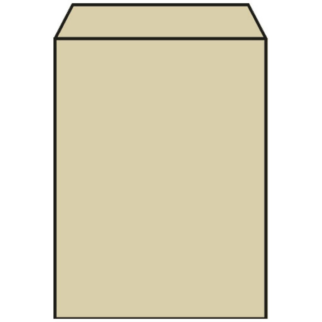 Sac croissant n°1 en papier kraft brun