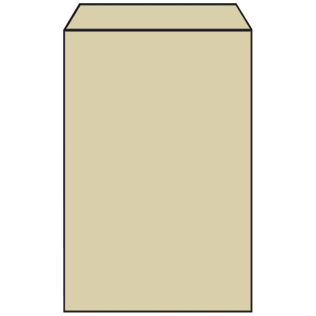 Sac croissant n°3 en papier kraft brun