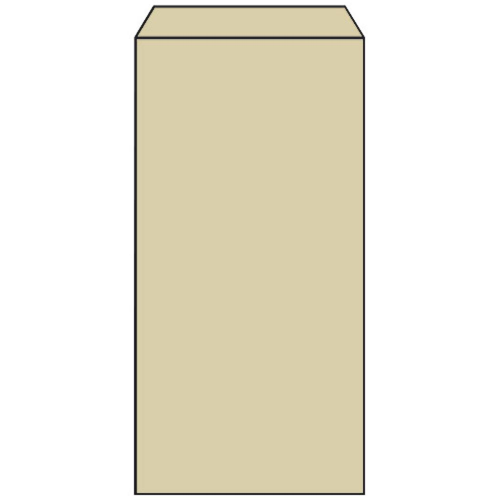 Brown kraft paper n°4 croissant bag
