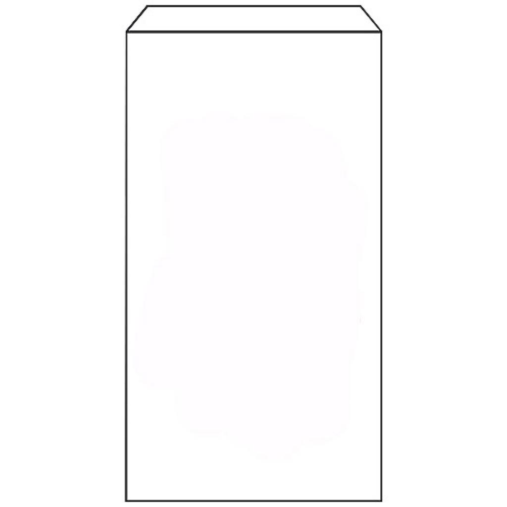 White kraft paper n°6 croissant bag