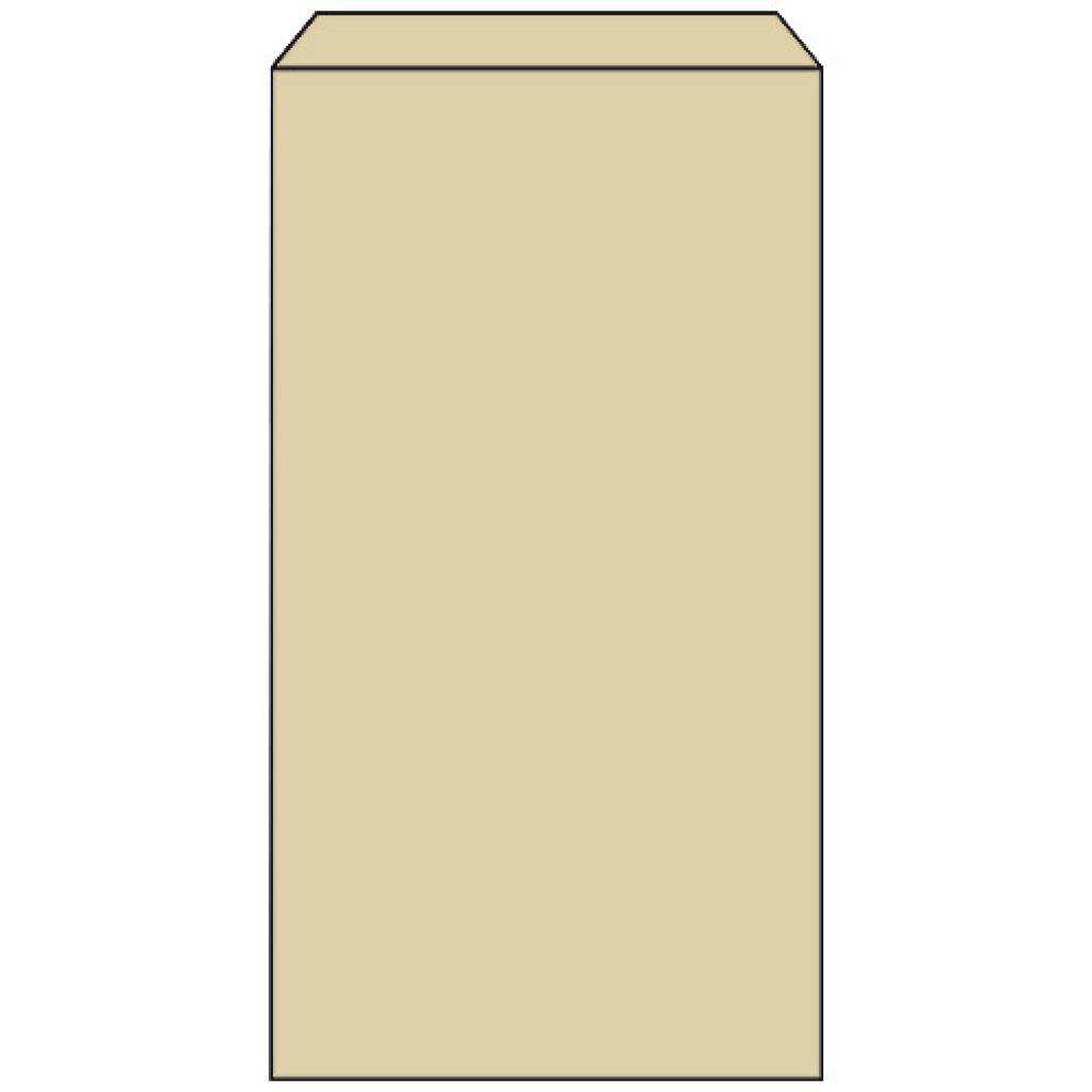 Brown kraft paper brioche bag