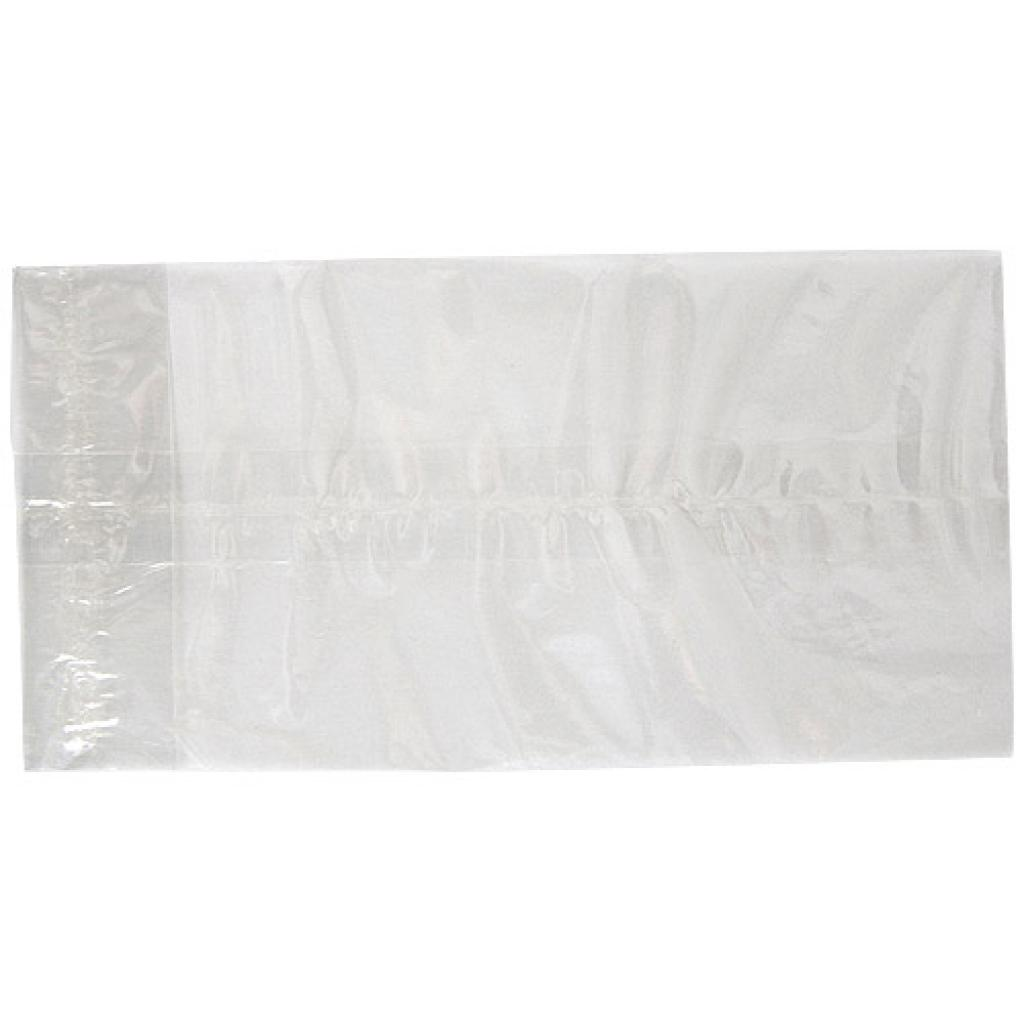 Flat transparent cellophane bag 11x22 cm