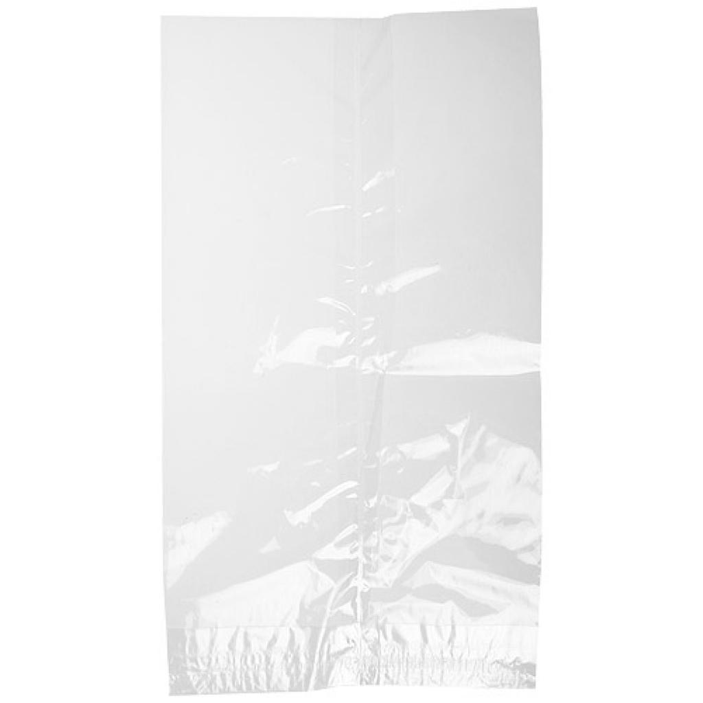 Flat transparent cellophane bag 14x25 cm