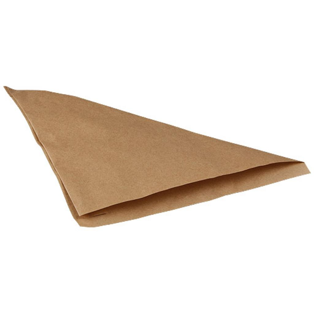 Small brown kraft paper cone 2