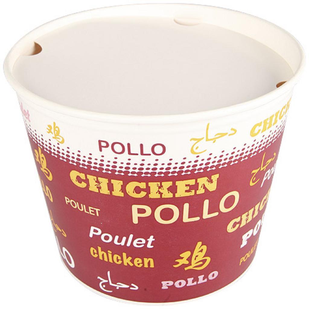 130oz paperboard chicken buket