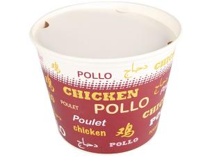 Pot chicken buket en carton 130 oz