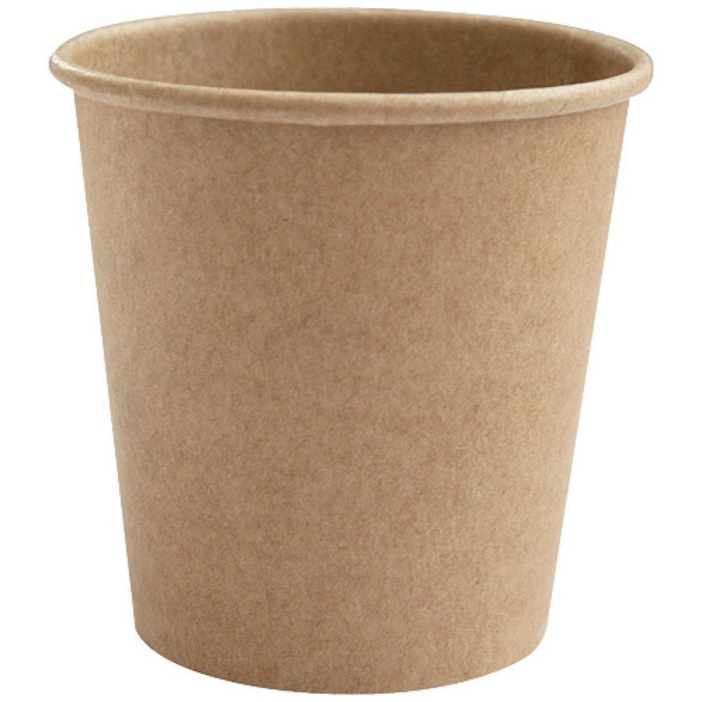 Gobelet carton kraft brun 12cl / 4oz