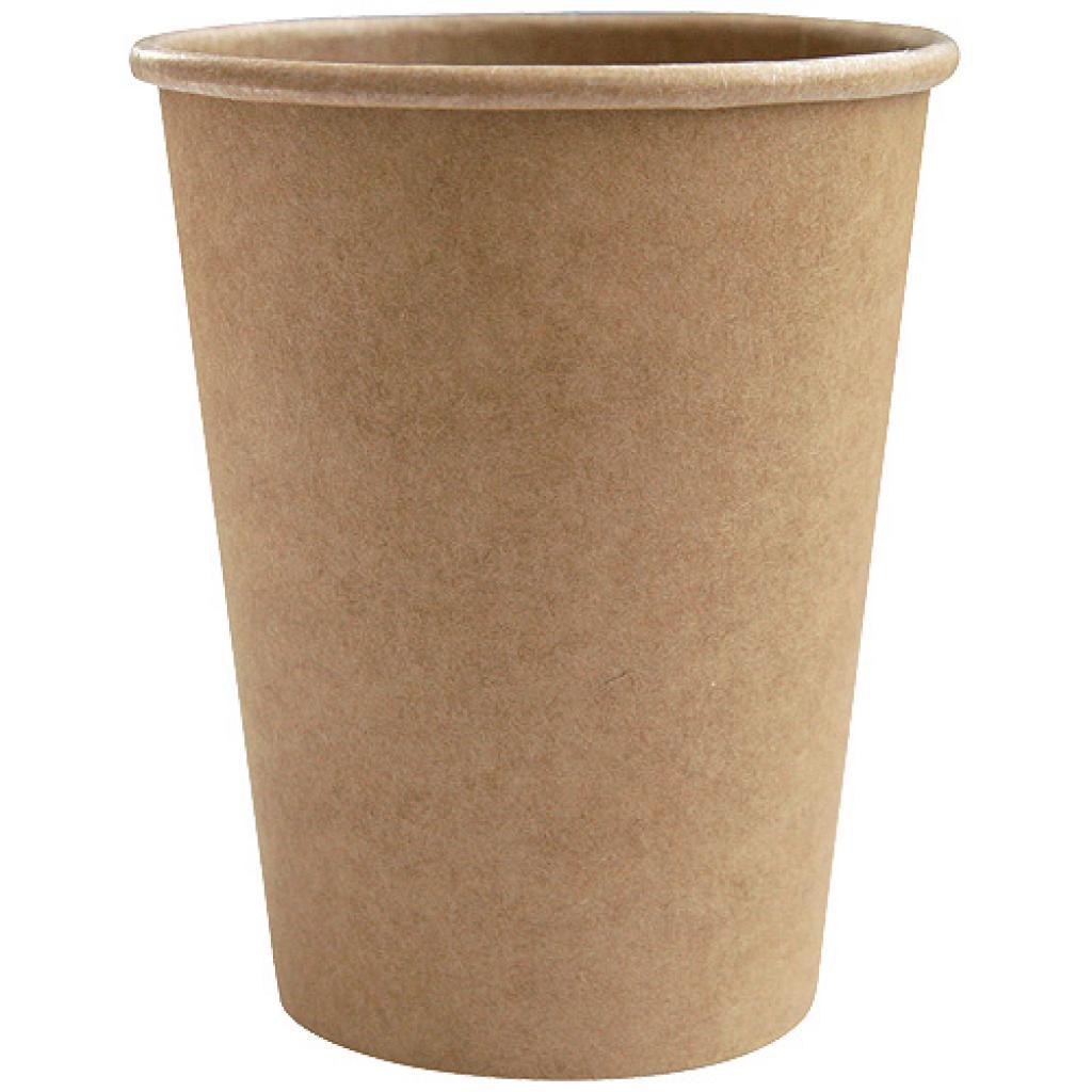 Gobelet carton kraft brun 25 cl / 10 oz