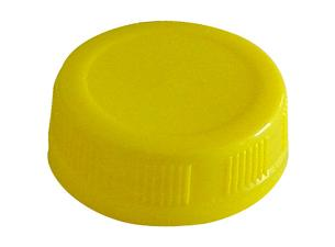 Yellow PP cap for FRUITA bottle