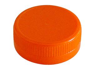 Orange PP caps for FRUITA bottle