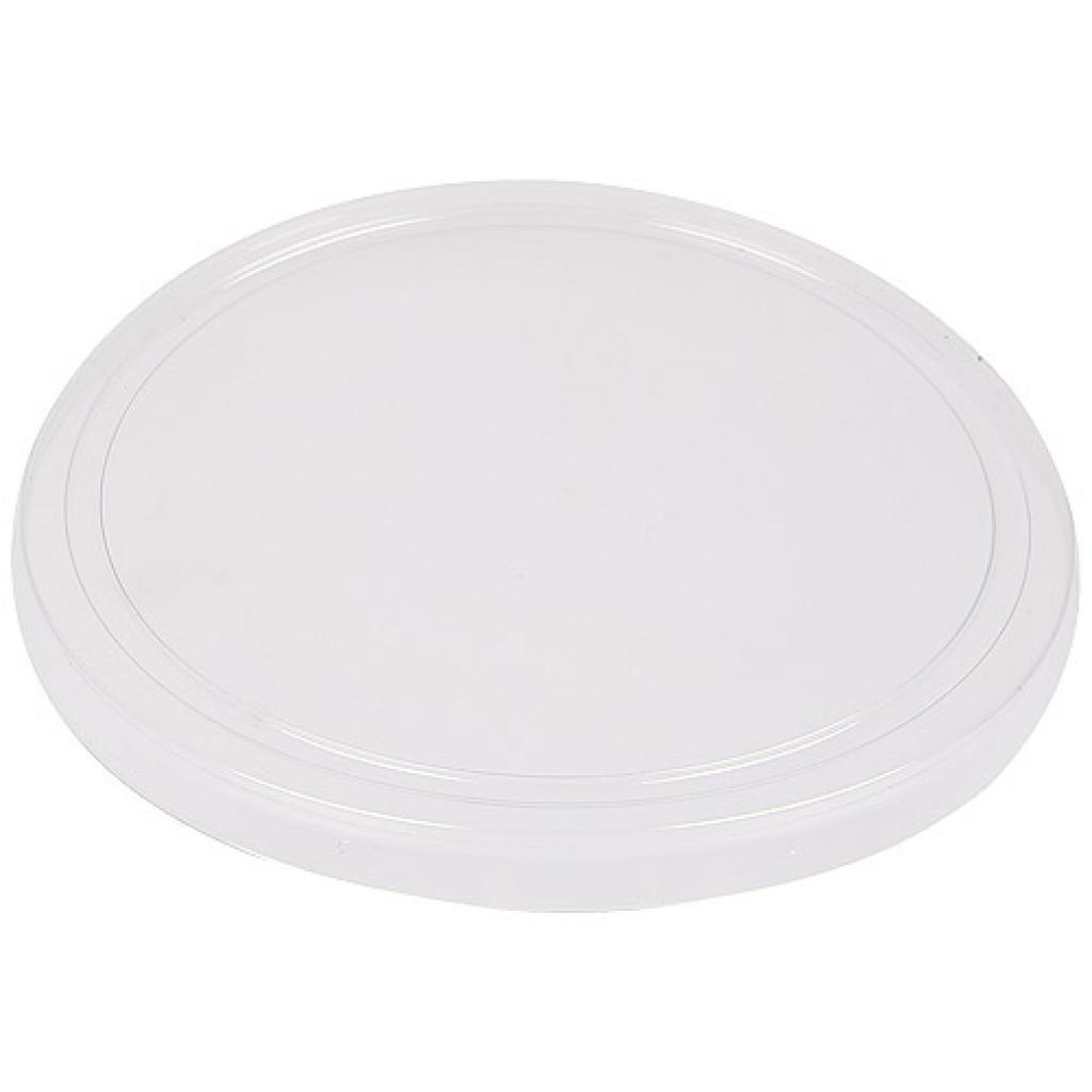 Couvercle plat transparent pour coupe dessert 25/30 CL