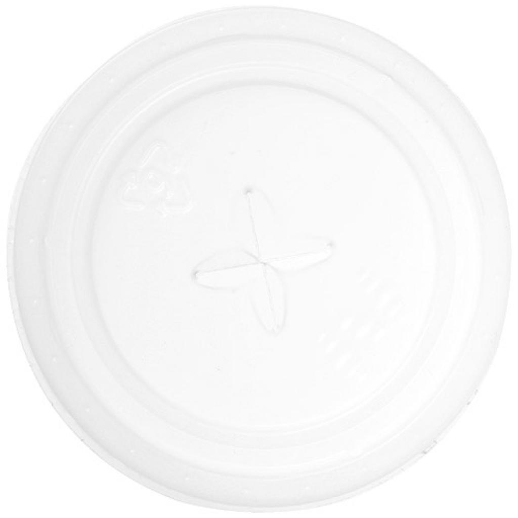 Couvercle plat pour gobelets PP Ø 83 mm