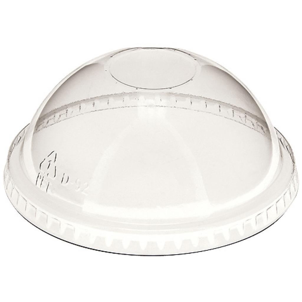 PET Domed Lid for 37.5CL Smoothie (12OZ)