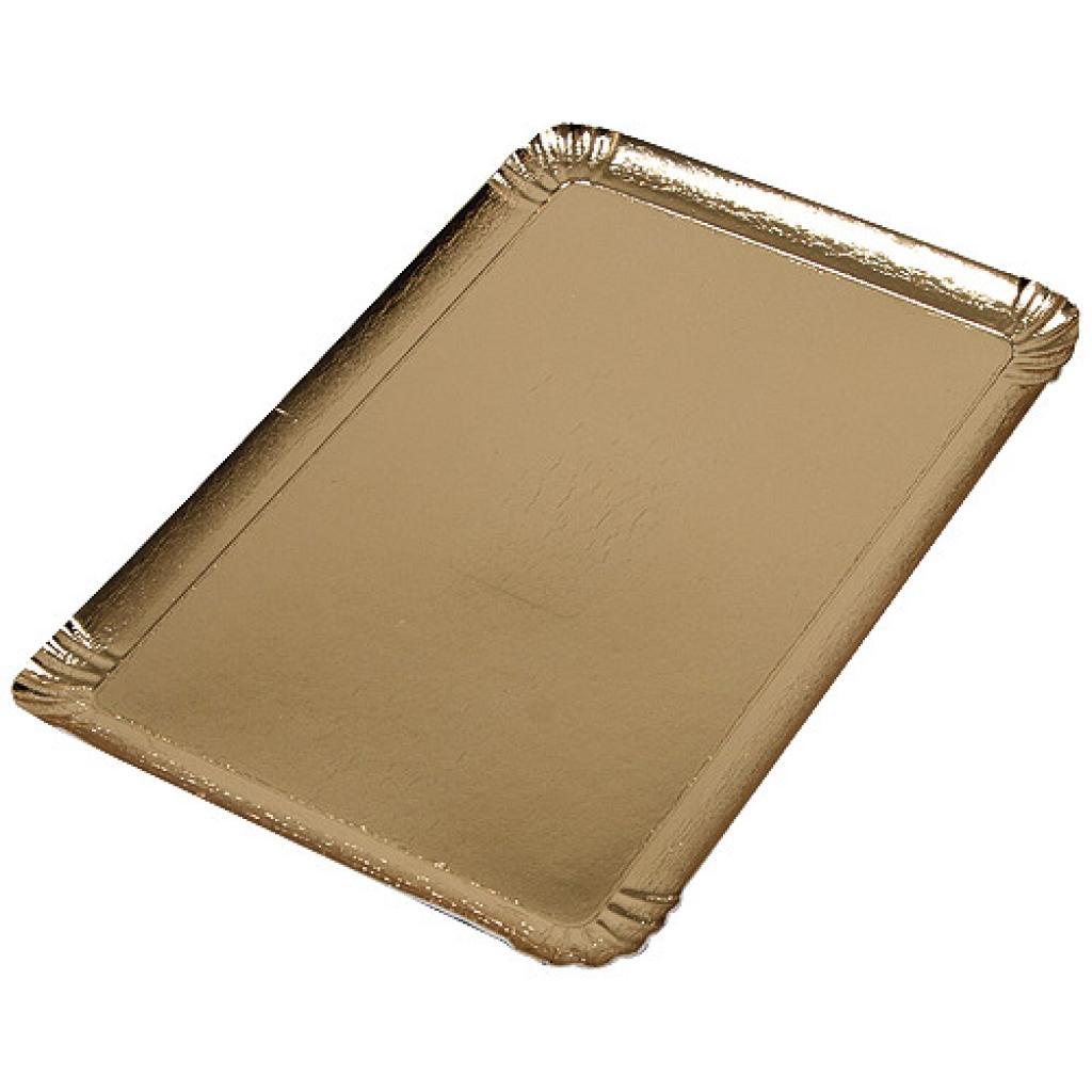 Plaque en carton couleur or  28x42 cm