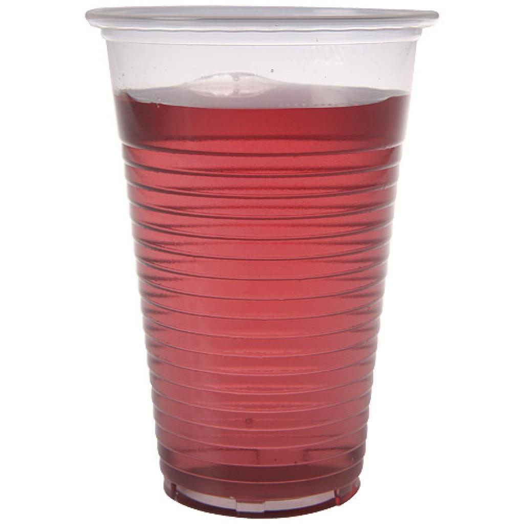 13/16cl transparent PP plastic cup