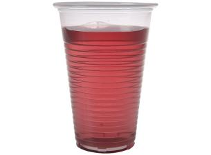 13/16cl transparent PP plastic cup