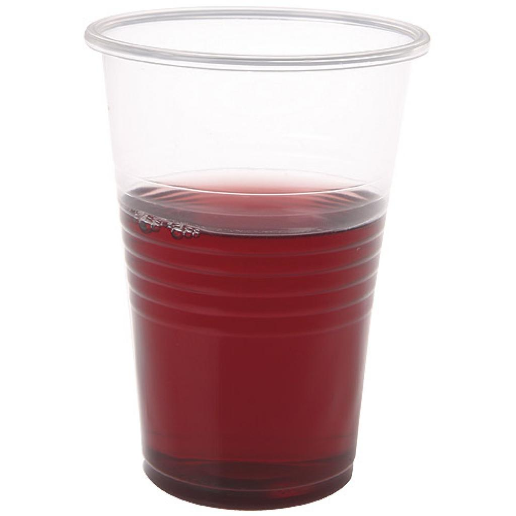 Individual transparent PP cup 22 cl