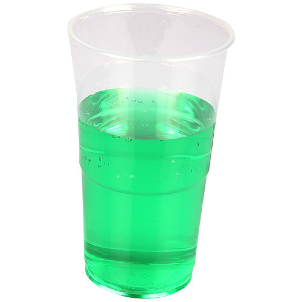 33/42cl transparent crystal PP cup