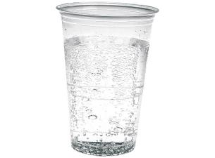30/33cl transparent PS plastic cup