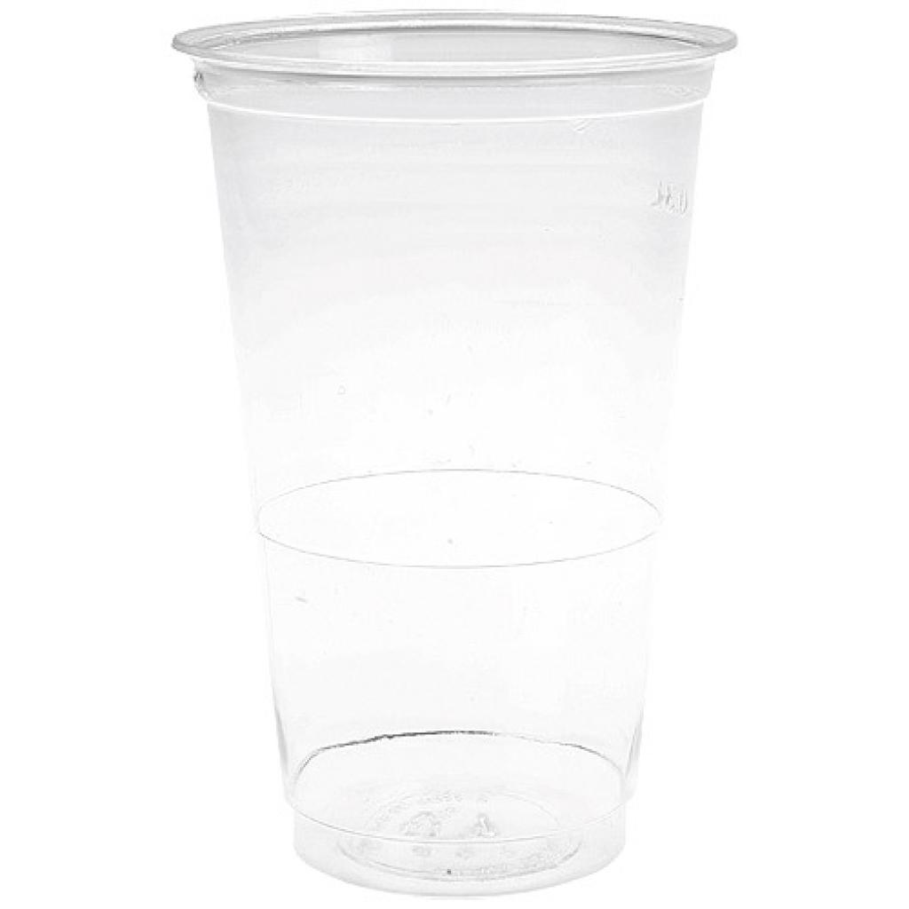Gobelet plastique PS transparent 40/42 cl 2
