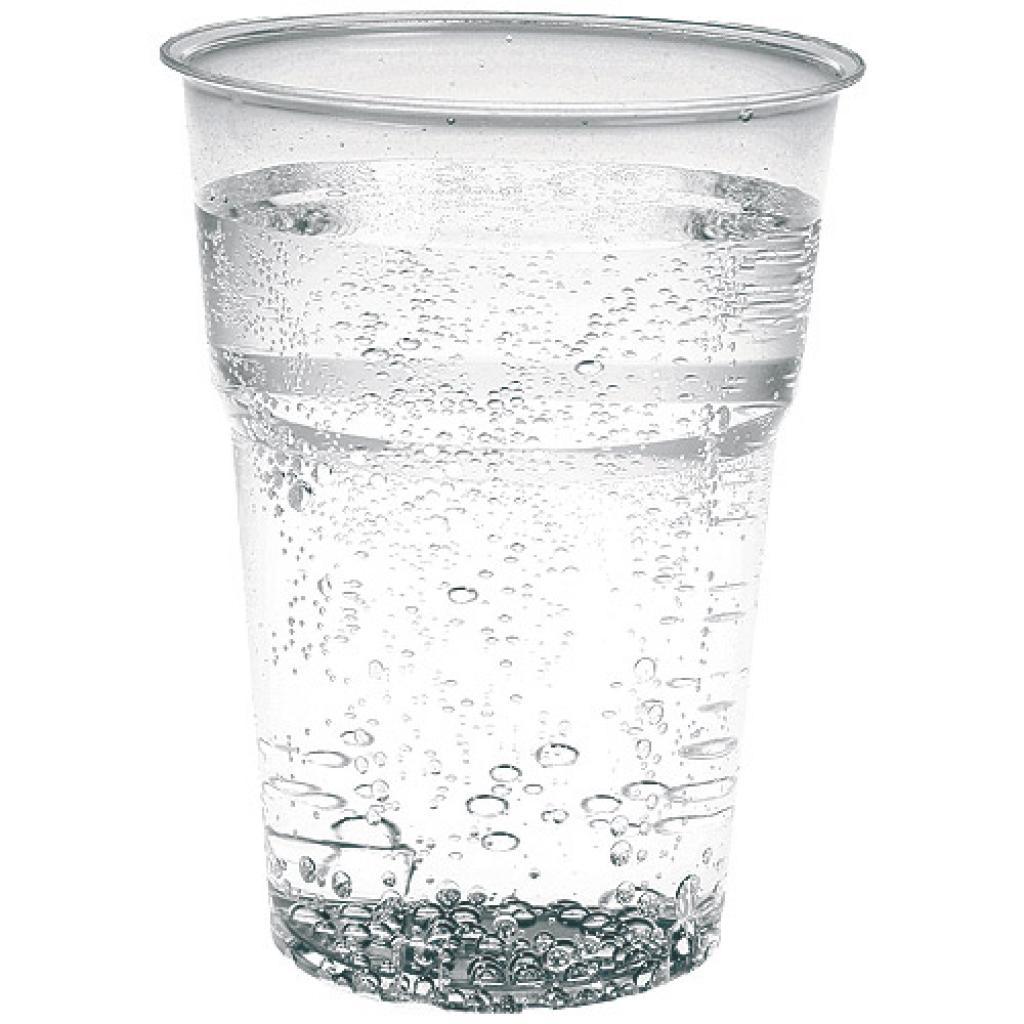 Gobelet plastique PS transparent 30/39 cl