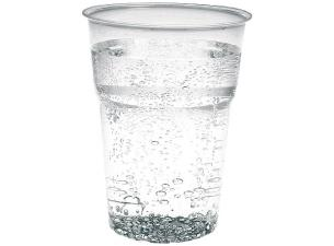 30/39cl transparent PS plastic cup
