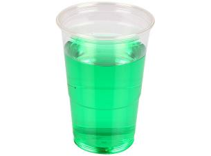 Transparent PET cup 25/30cl