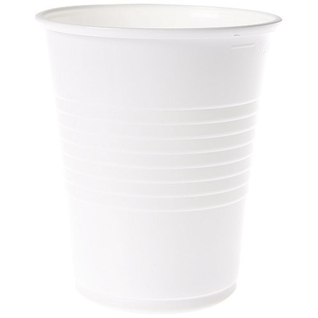 Gobelet plastique PP blanc 18/22 cl