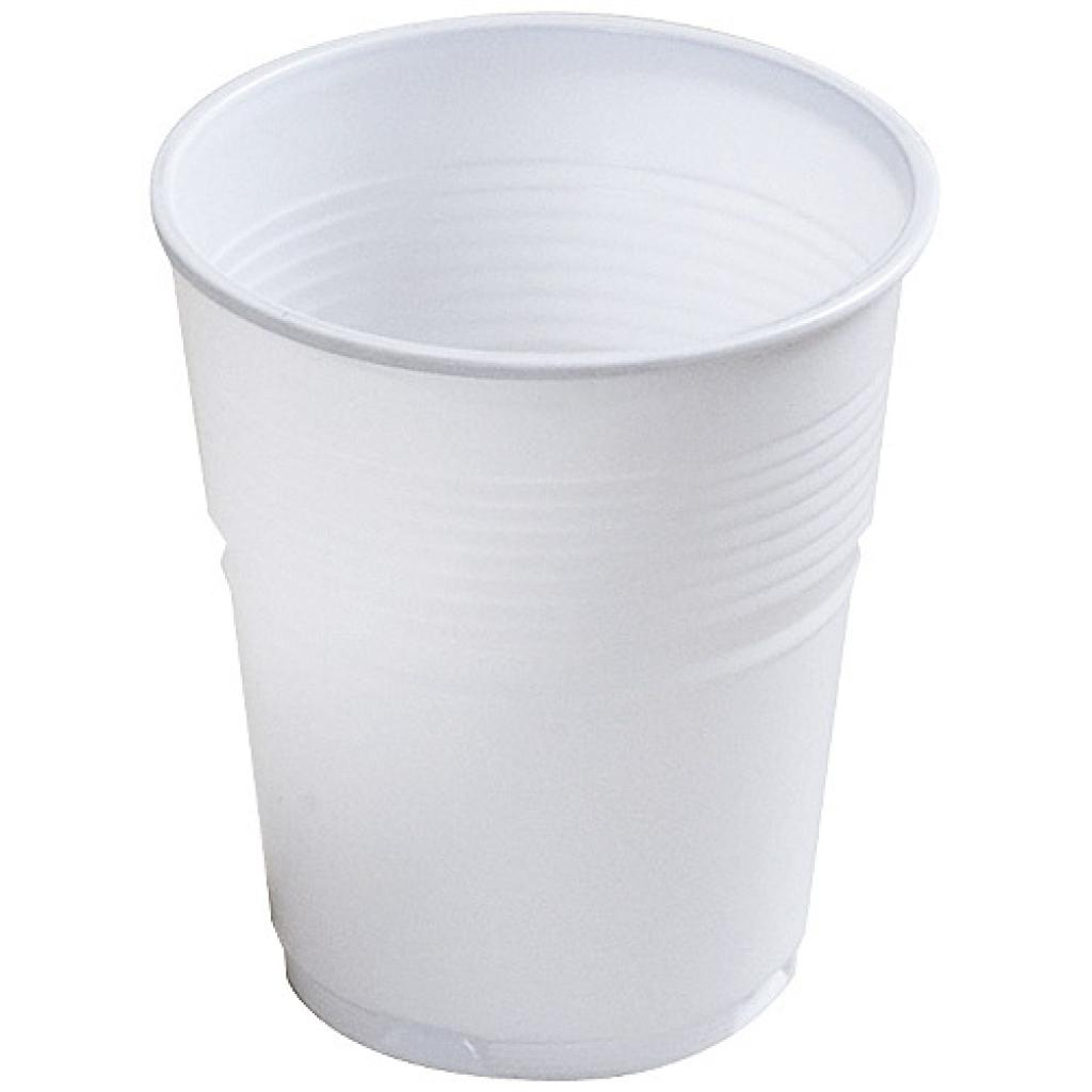 Handy white PS cup 10cl