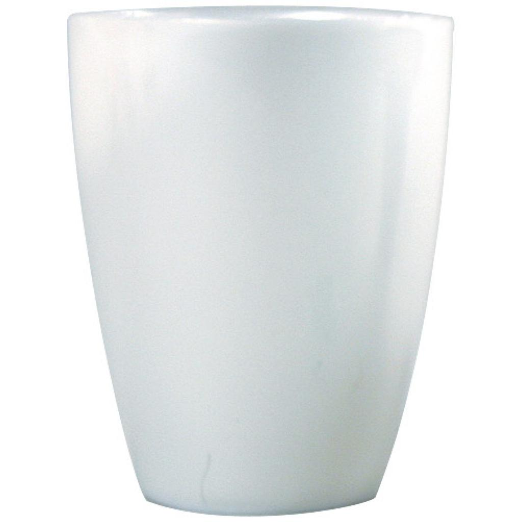 Verrine 5th Avenue en PS blanc ivoire 7 cl