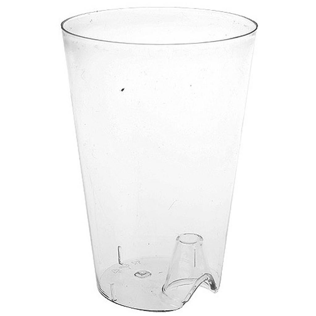 20cl transparent PS glass for display tray