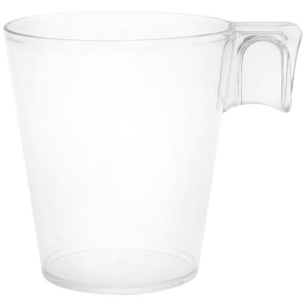 Transparent PS coffee cup 10cl 2