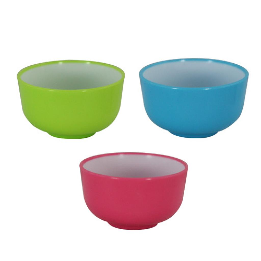 Assorted 3cl two-tone mini-bowls
