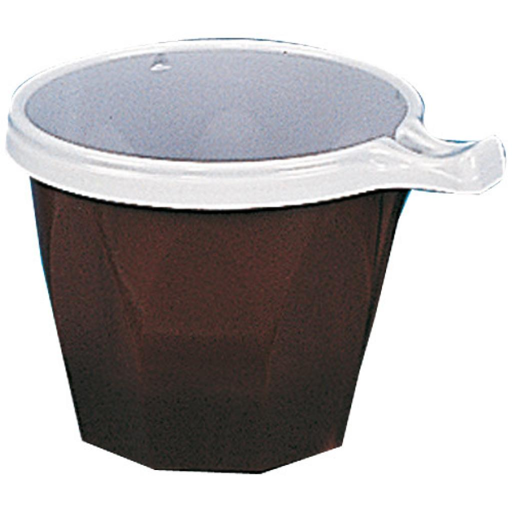 Black and white two-tone PS coffee cup 20/22 cl