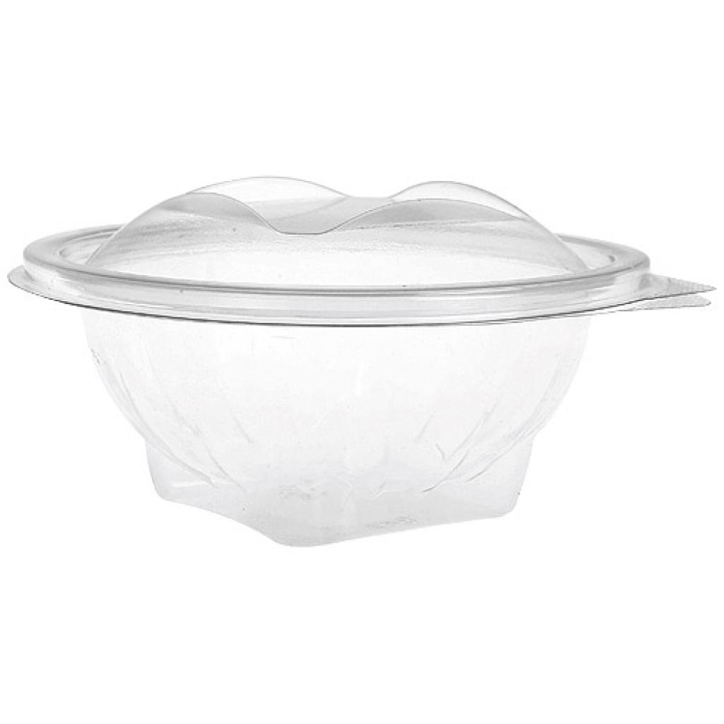 25cl round PET plastic Eole salad bowl