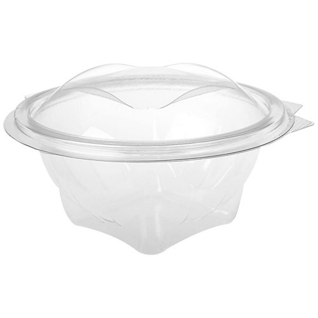 37.5cl round PET plastic Eole salad bowl