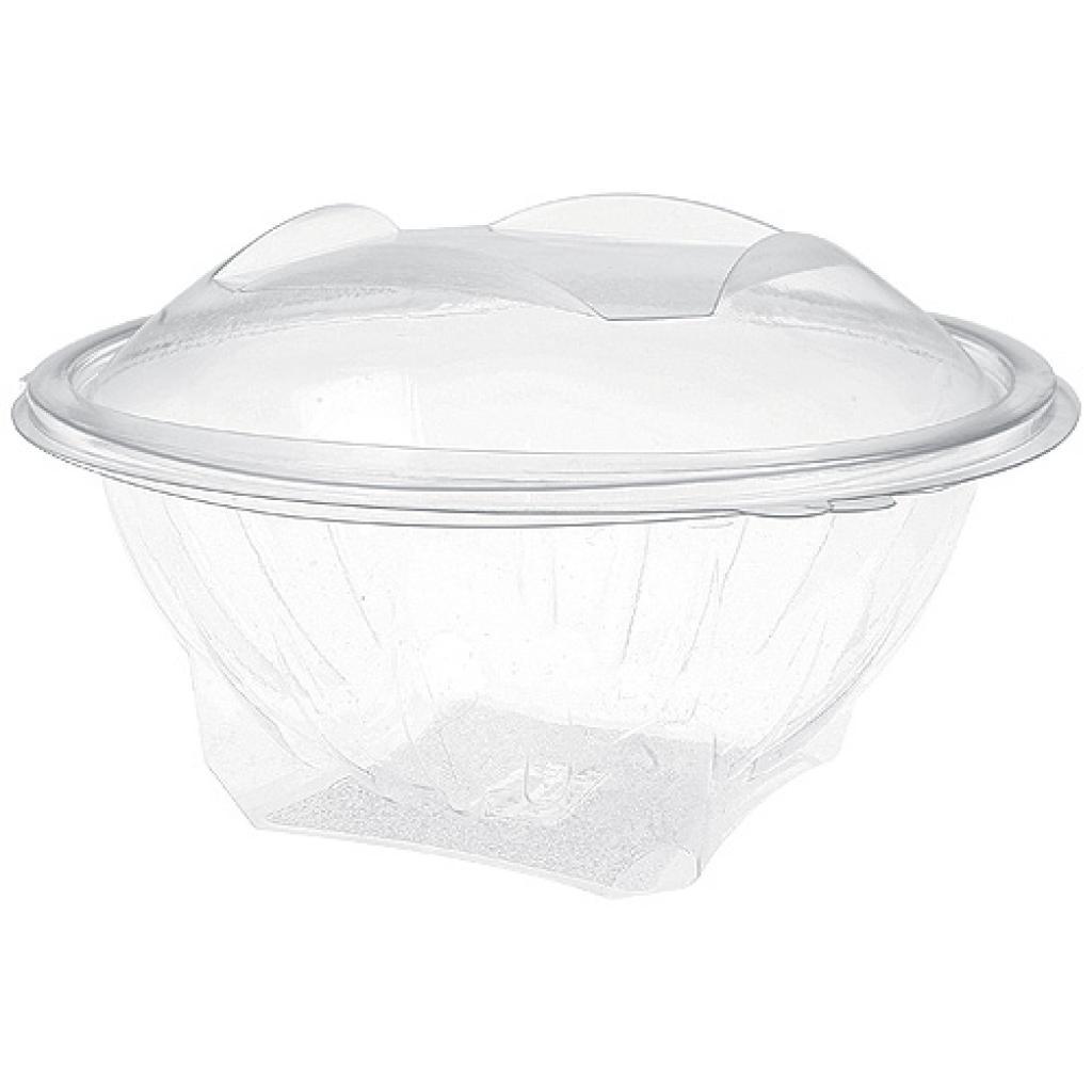 Saladier éole rond plastique PET 100 cl