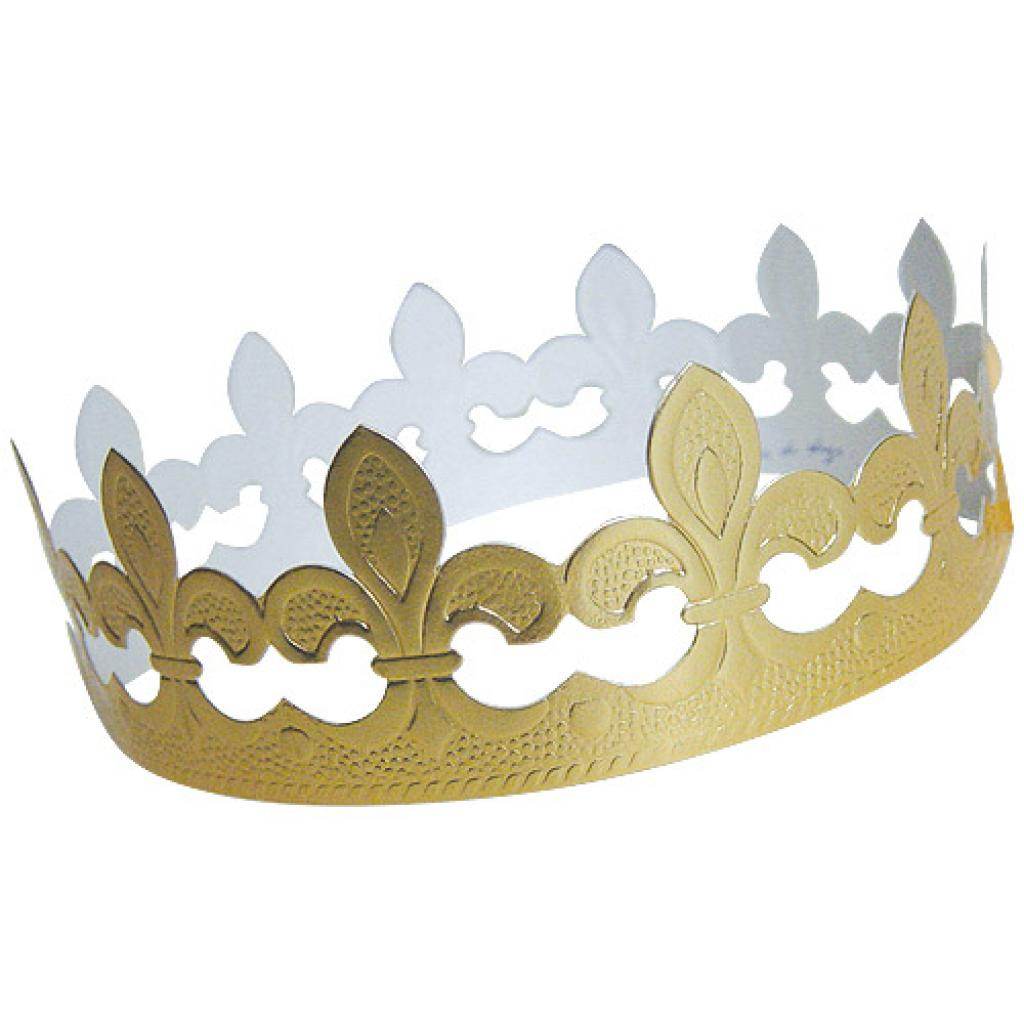 Golden fleur de lys crown for Galette des Rois