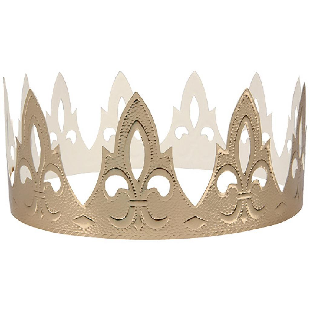 Golden countess crown for Galette des Rois