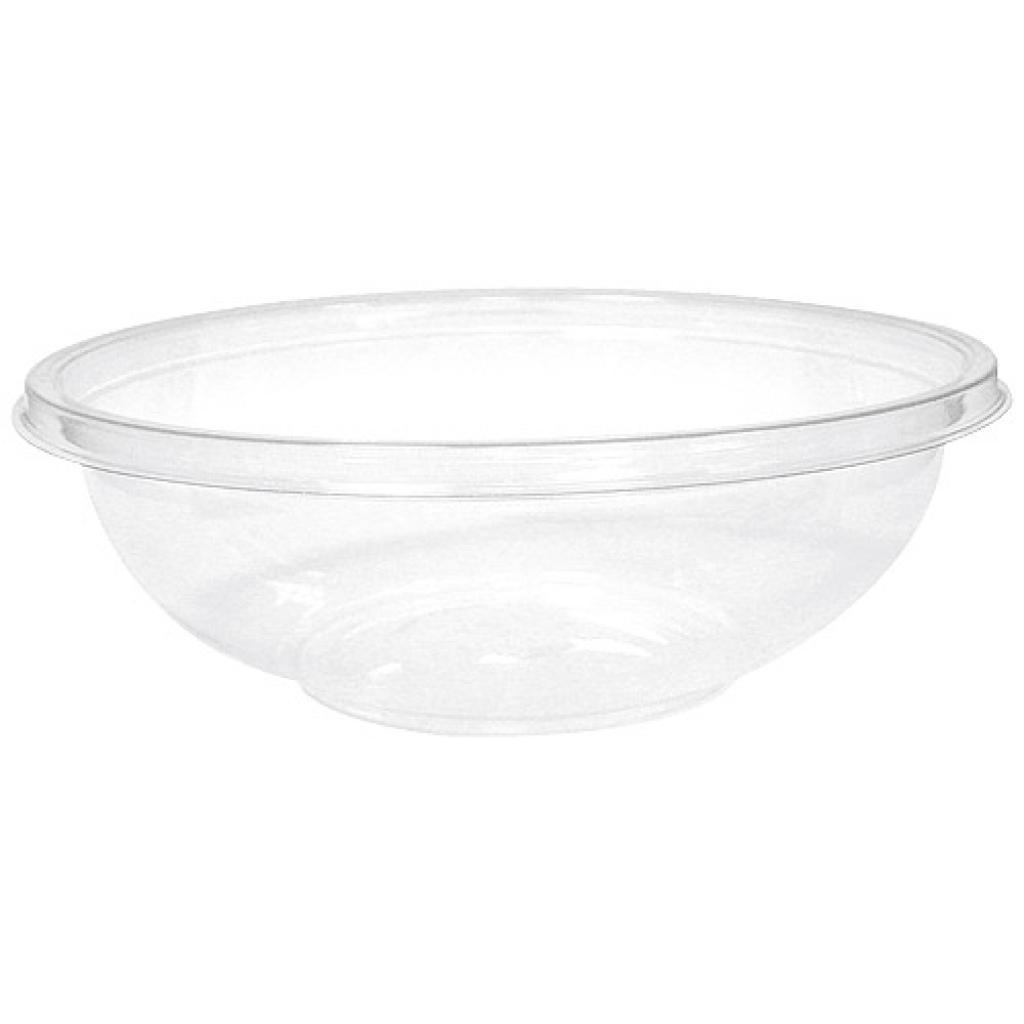 240cl transparent crystal PET salad bowl